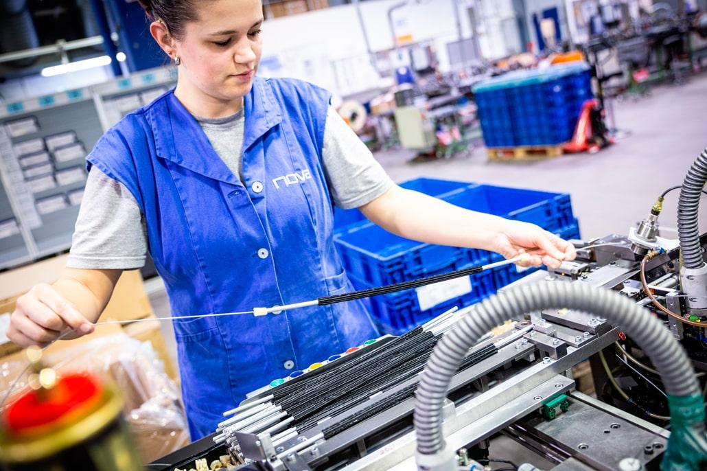 nova Industriedienstleistungen Bowdenzüge